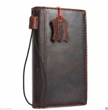 Genuine real leather case for Google Pixel 3A book wallet cover holder handmade