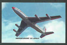 PPC* American Airlines 707 Astrojet Good Card Mint