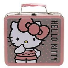 Loungefly Hello Kitty Pink Gray Lunch Box