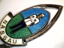 Vtg Nassau Collectible Souvenir Spoon / Sterling Bmco