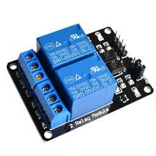 5V/12V 2 Way Relay Board Module for Arduino Raspberry Pi ARM AVR DSP PIC