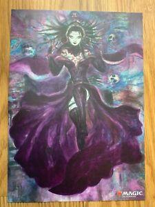 MTG WAR of the Spark Liliana Dreadhorde General JP Alternate Art Poster Amano