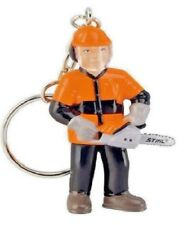 STIHL Chainsaw Key Ring - Forestry Worker