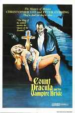 Satanic Rites Of Dracula Poster 02 A2 Box Canvas Print