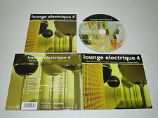 VARIOUS/DUSAN HERIC - LOUNGE ELECTRIQUE 4(CARAMELLE-ZYX CAR 1007-2) CD ALBUM