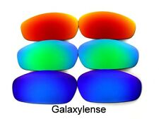 Galaxy Replacement Lenses For Oakley Whisker Sunglasses Blue&Green&Red Polarized