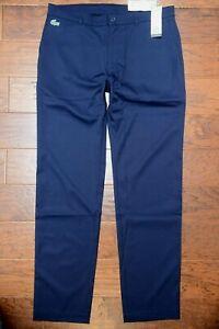 Lacoste Sport HH1624 $145 Men's Water Repellent Stretch Poly Golf Pants 40 EU 50