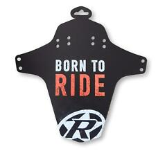 Reverse Mudguard Born To Ride Fox Orange Bicycle MTB mud guard