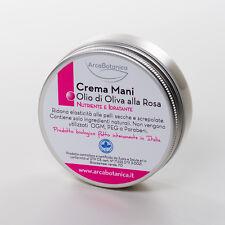 Arca Botanica Bio - Crema mani Biologica all'Olio di Oliva e Rosa 60 ml NEW!!!