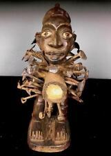 Old Tribale Bakongo NAIL Fetish Figura --- Congo BN 48