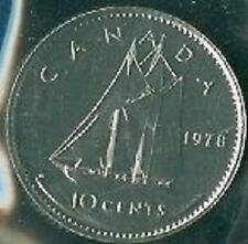 1978-PL Proof-Like Dime 10 Ten Cent '78 Canada/Canadian BU Coin Un-Circulated