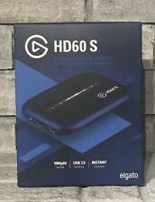 Elgato HD60 S Game Capture Streamer - Black BRAND NEW IN HAND