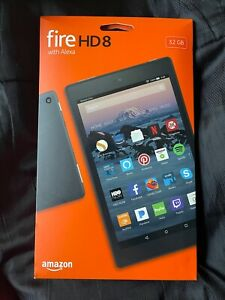 Amazon Fire HD 8 (7th Generation) 32GB, Wi-Fi, 8in - Black - NEW