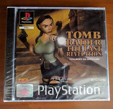 Tomb Raider 4 IV The Last Revelation Pal España Precintado de fábrica