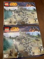 Lego 2014 Star Wars AT-AP 75043 Manual Instructions only