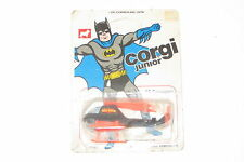 vintage 1976 Mettoy Corgi junior No 78 Batman Batcopter MOC unpunched