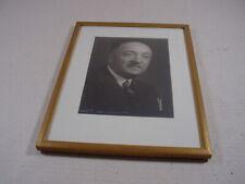 Alter Bilderrahmen mit sig. Fotografie, Standrahmen, Goldleiste um 1930. Rahmen.