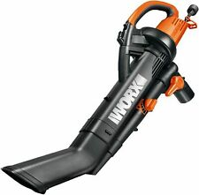 New Worx Trivac Collection 3-in-1 Blower Mulcher And Vacuum With debris bag