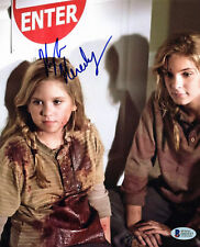 Kyla Kenedy The Walking Dead Authentic Signed 8x10 Photo Autographed BAS #D43537