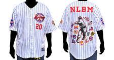 NLBM Commemorative Baseball Jersey - White