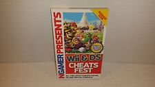 NGamer Presents Wii DS Cheats Fest Summer 2008 Paperback Book Guide Strategy