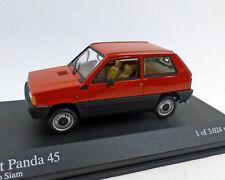 Fiat Panda 1980, Red, 1:43, Minichamps