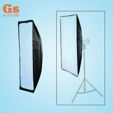 Photo Studio Softbox 20x90cm Square Soft Box with Bowens Mount for Flash Strobe