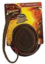 Indiana Jones Explorer Hat Whip Kit Fancy Dress Up Halloween Costume Accessory