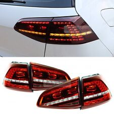 LED Tail Light Sequential Rear Lamp LH RH 4Pcs for VW 2013-16 Golf 7th R Version