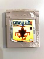 Choplifter II 2 Rescue Survive ORIGINAL NINTENDO GAMEBOY GAME Tested + Working!