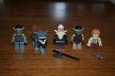 LEGO MiniFigure Lot Lord of the Rings Hobbit Warg 79002 Moria Orc 9473 Bilbo
