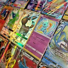 Pokemon Card Lot 5 Rare + Holo Cards w/ Guaranteed Gx Full Art or Ex Ultra Rare!