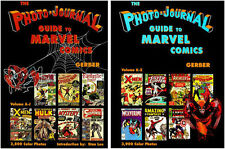 Gerber Photo-Journal Guide To Marvel  Comic Books Volumes 3-4!