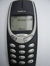 Menthe débloqué nokia 3310 téléphone mobile entièrement rénové garantie 6 mois