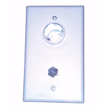 Winegard White 2nd TV Wall Plate Only - to suit Winegard Antenna