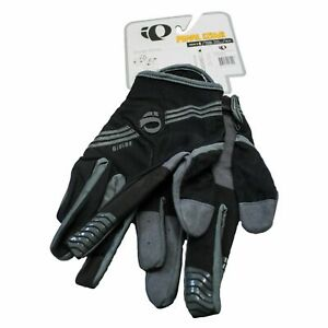 Pearl Izumi Cycling Gloves Men Sz XL Full Finger DIVIDE Black Bike Bicycle New