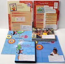 Gear Up,Ell Fluency Kit: Grade K-1 Guided Reading,ELL Lesson Plans,DVD,Books (2)
