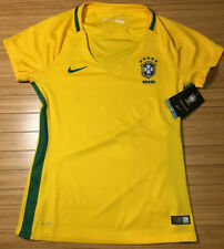 Nike Brazil National Team 2016 Yellow Nwt Soccer Jersey Nike Dri-Fit Women S