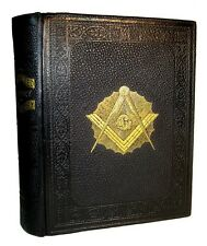 FREEMASONRY MASONIC Antique HISTORY 1902 ILLUSTRATED KNIGHTS TEMPLAR OCCULT BOOK