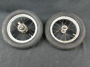 DDR LILIPUT Rad 2 Lufträder Dreirad Tretauto Roller Tretfahrzeug Reifen alt