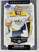 2019 - 20 NHL UD Chronology Pekka Rinne Diamond Nashville Predators