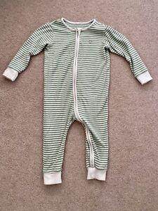 WORN TWICE baby Mori Sleepsuit Size 18-24 Months