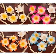 100x Floating Frangipani Plumeria Hawaiian Flower Heads Wedding Party DIY Decor