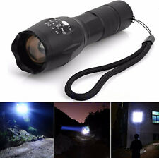 Powerful Zoomable 10000Lumen 5Modes XML T6 LED 18650 Flashlight Torch Lamp Light