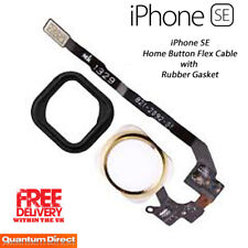 NEW GOLD Complete Home Button Replacement Ribbon with Gasket FOR iPhone SE