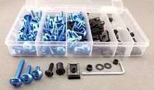 Universal Bolt MC Sportbike Track Pack For HAYABUSA ZX14R ZX10R R1 R6 S Blue