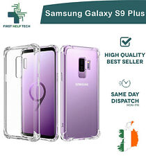 Samsung Galaxy S9 Plus Case Cover ShockProof Soft Bumper Case Clear TPU Silicone