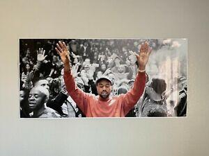 Kanye West Yeezy The Life of Pablo TLOP Wall Vinyl Art Print Photography Donda