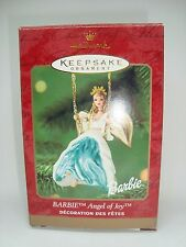 Barbie Collectible Hallmark Ornament. Angel Of Joy! 2000 Awesome!