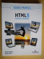 HTML 5 nuova edizioneLawson, SharpMondadoriinformatica software 824 nuovo
